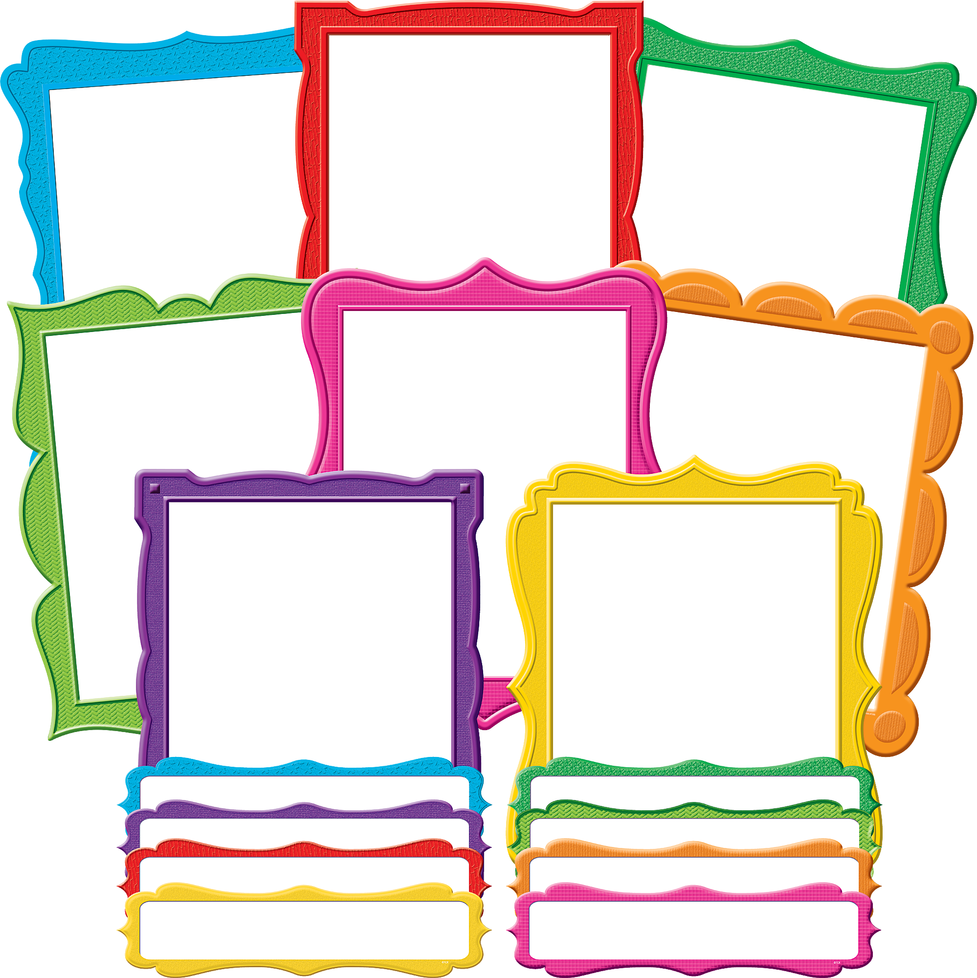 Fancy Frames Bulletin Board Display Set - TCR5628 ...