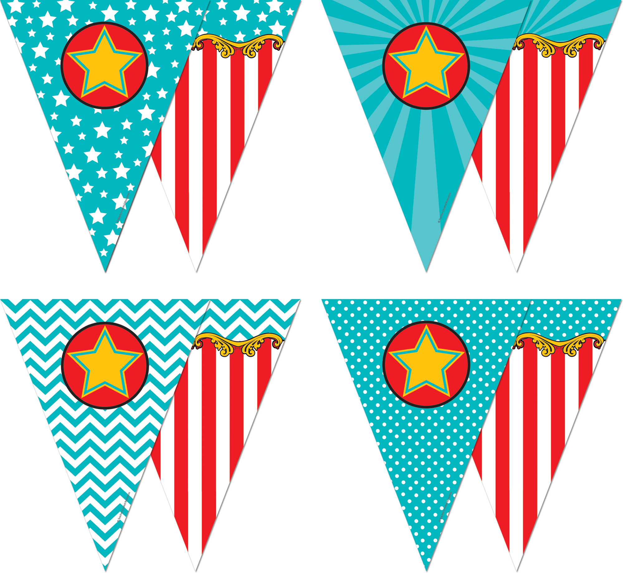 Carnival Pennants Tcr5808 Teacher Created Resources
