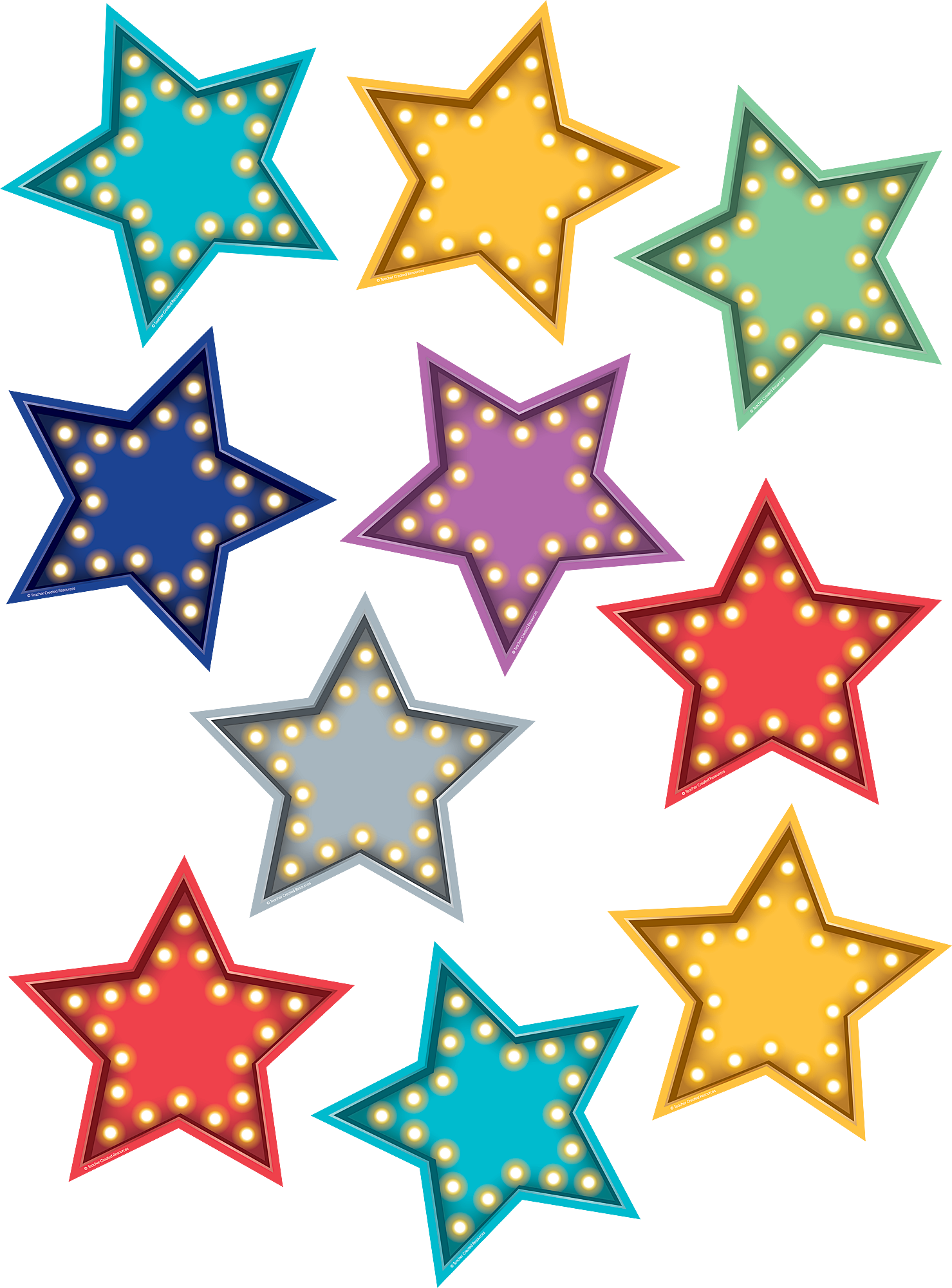 Marquee Stars Accents - TCR5870 | Teacher Created Resources