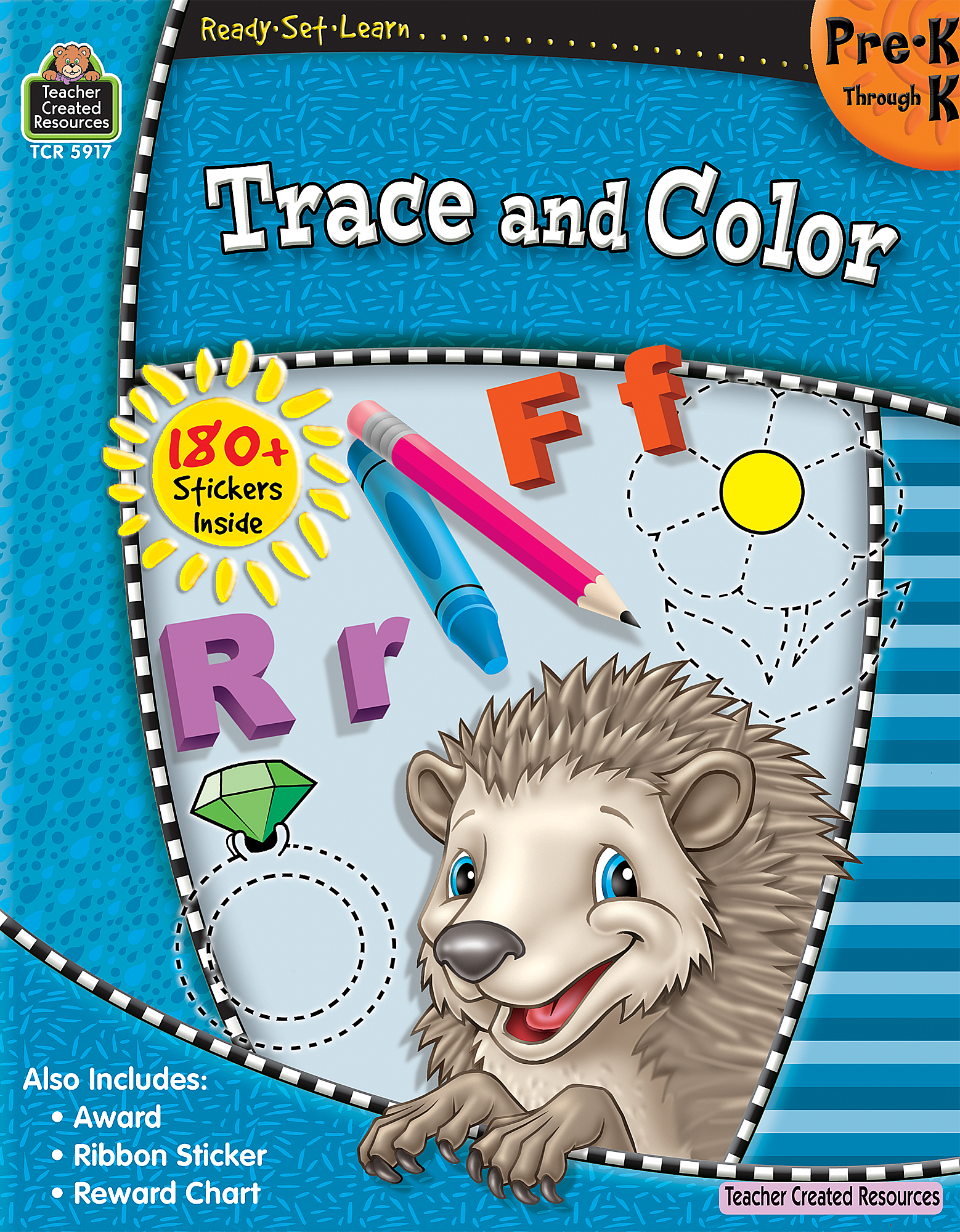 Color games for pre k - Color Games For Pre K Ready Set Learn Trace And Color Prek K Tcr5917 Products