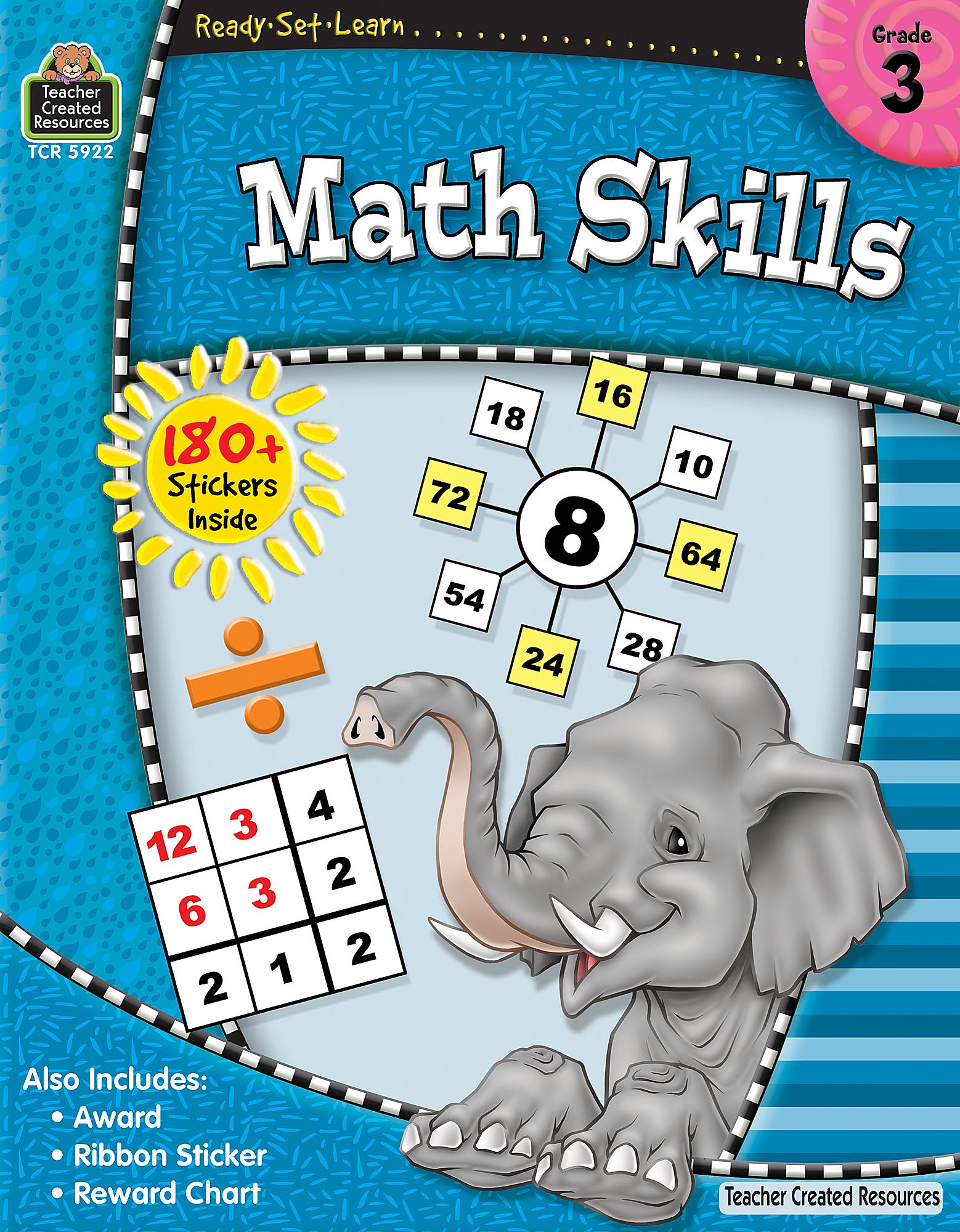 ready-set-learn  math skills grade 3
