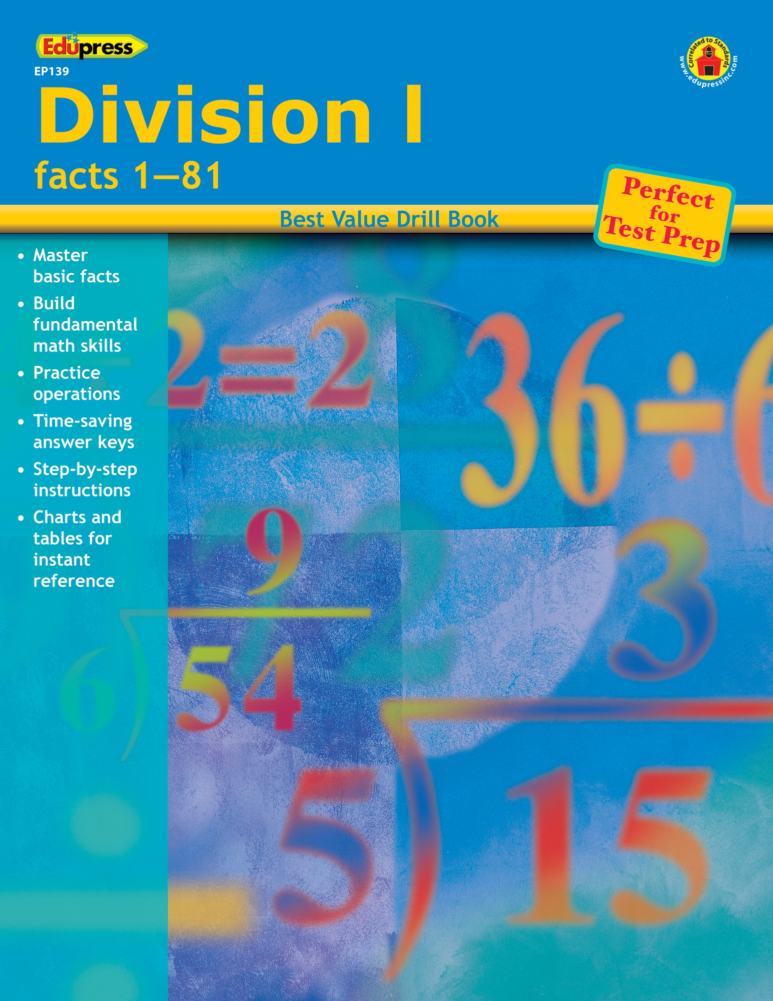 Best Value Drill Book Division 1 - TCR60139 | Teacher Created Resources