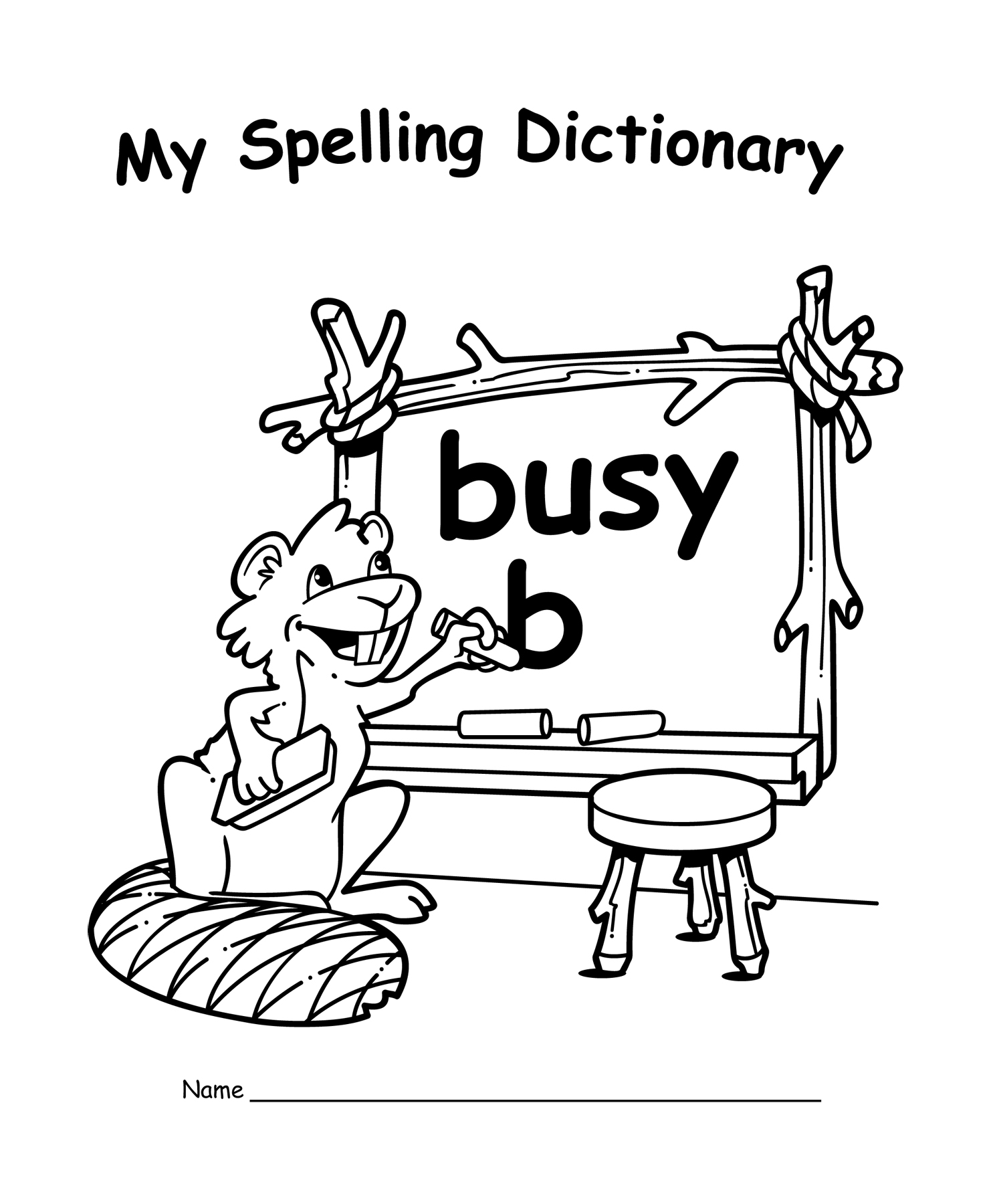 Make My Own Spelling Worksheet : My own spelling dictionary book pack tcr
