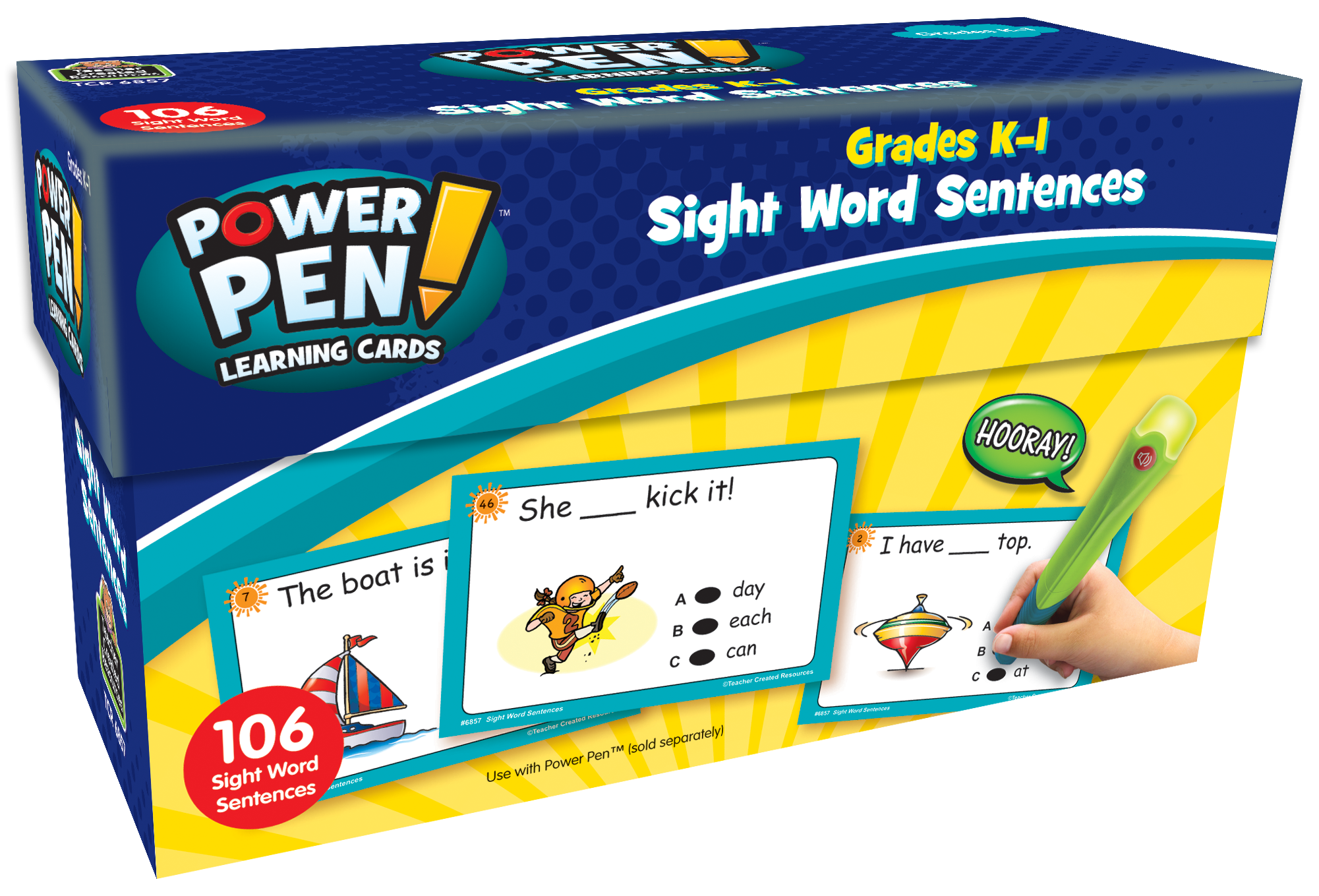 Power Pen Learning Cards: Sight Word Sentences