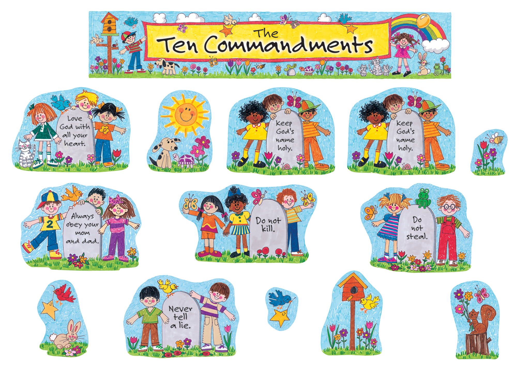 Ten Commandments For Kids Crafts Www Imgkid Com The Image Kid Has It