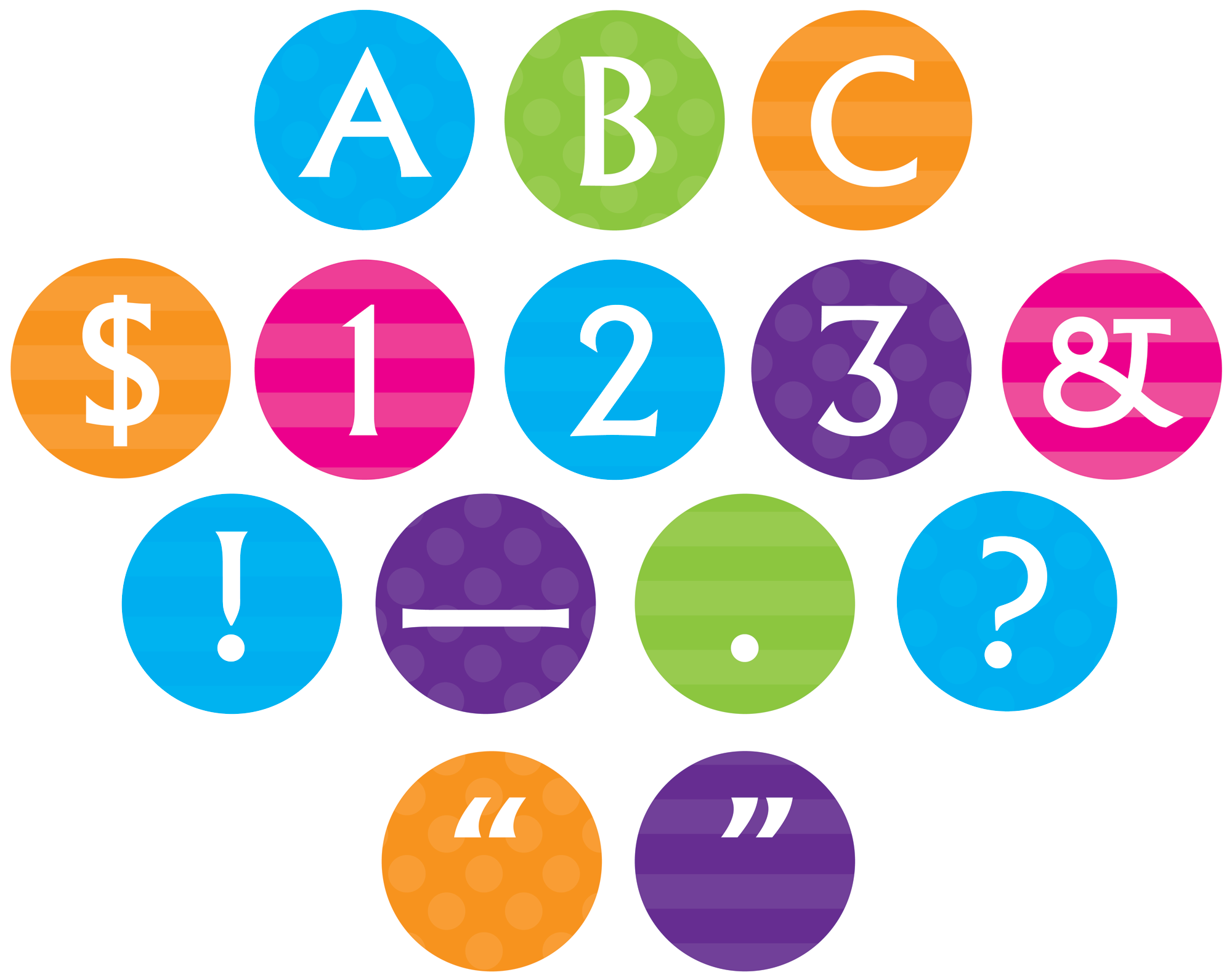 sassy circle letters tcr75401 products teacher created resources