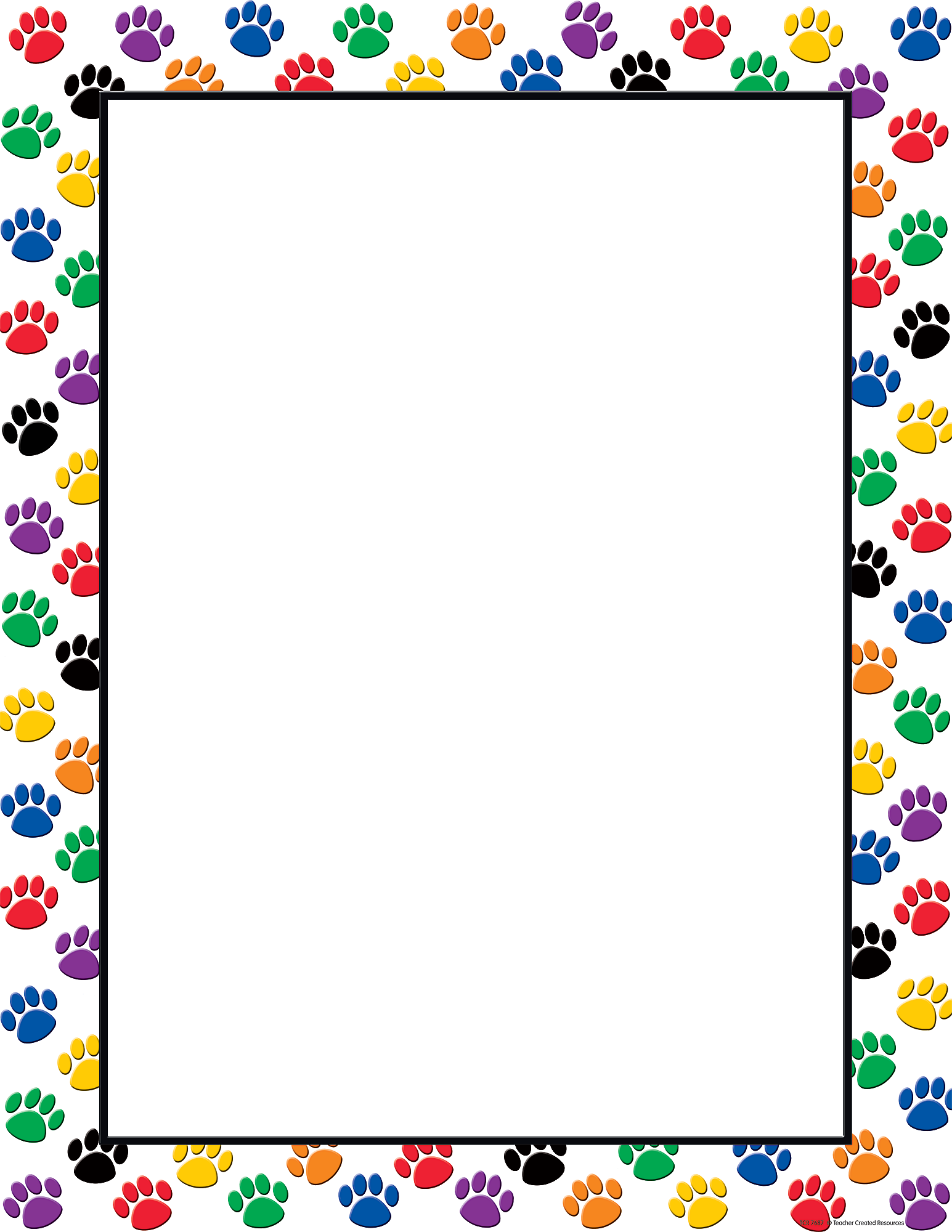 It's just an image of Impeccable Paw Patrol Borders