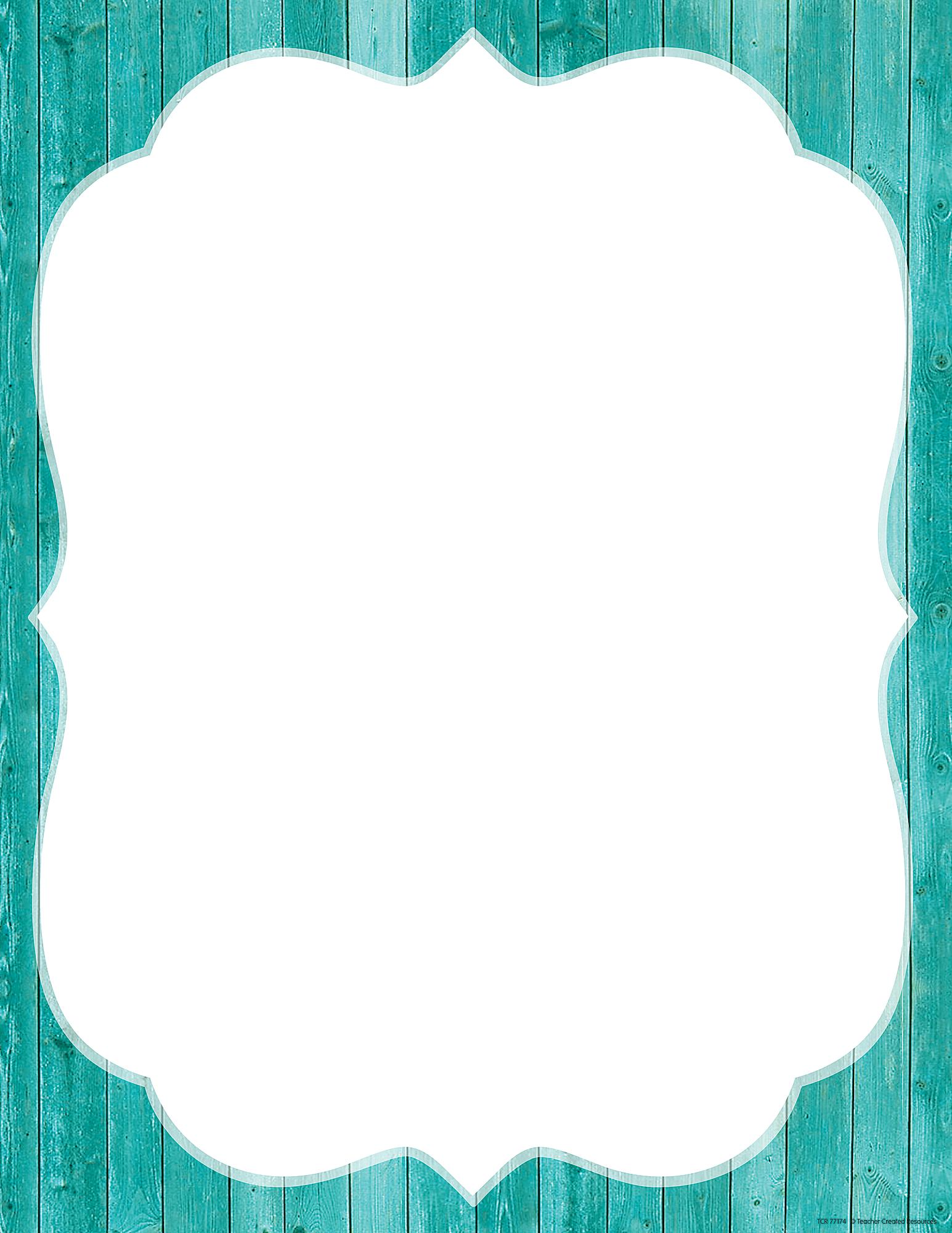 Shabby Chic Blank Chart