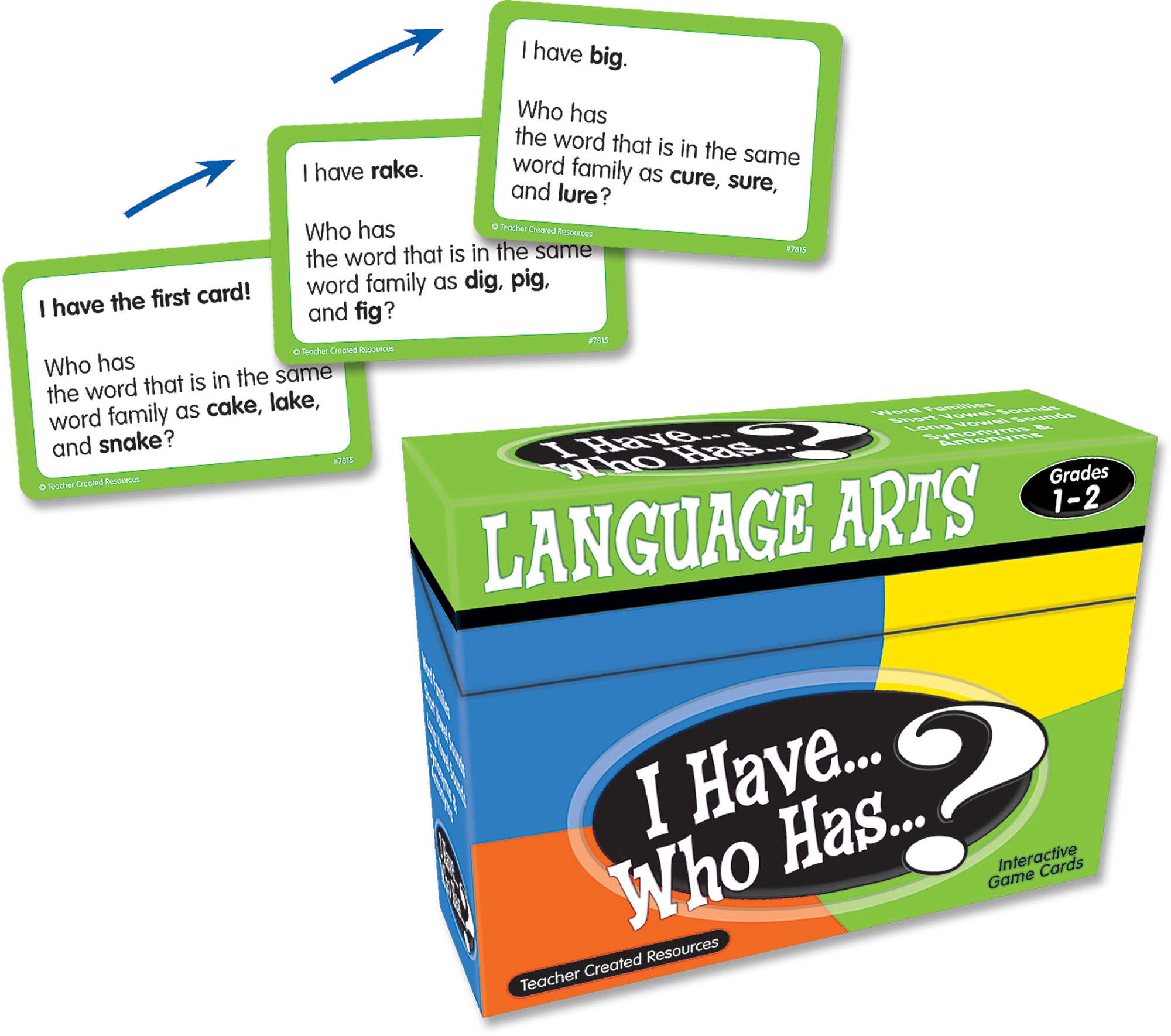 I Have Who Has Language Arts Game Grade 12 TCR7815 – Teacher Created Resources Inc Worksheets Answers