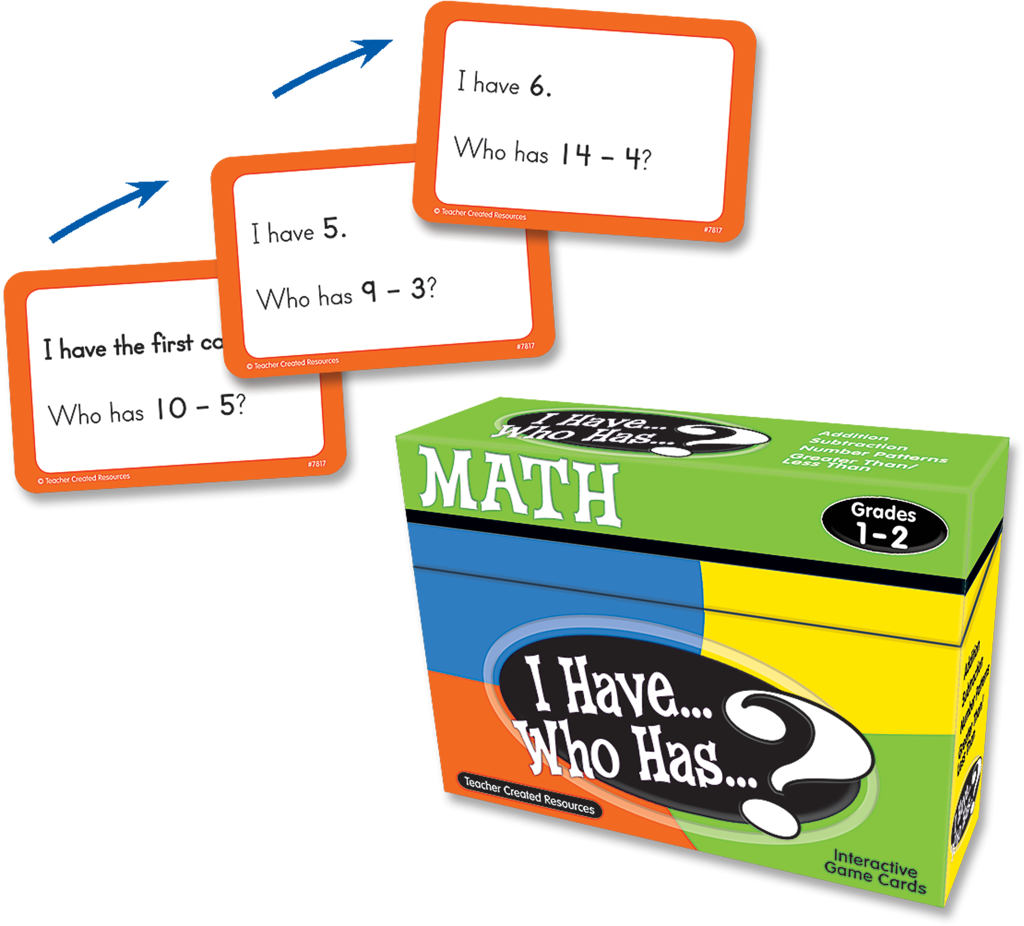 I Have, Who Has Math Game Grade 1-2 - TCR7817 | Teacher Created ...