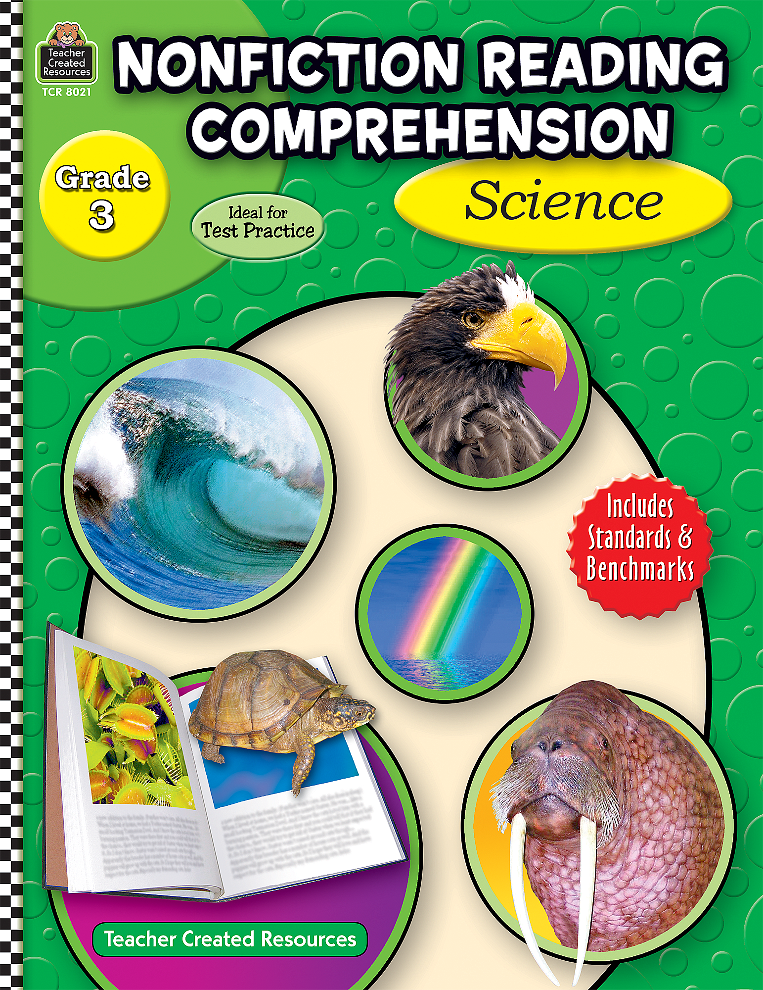 worksheet Nonfiction Reading Comprehension Worksheets nonfiction reading comprehension science grade 3 tcr8021 teacher created resources