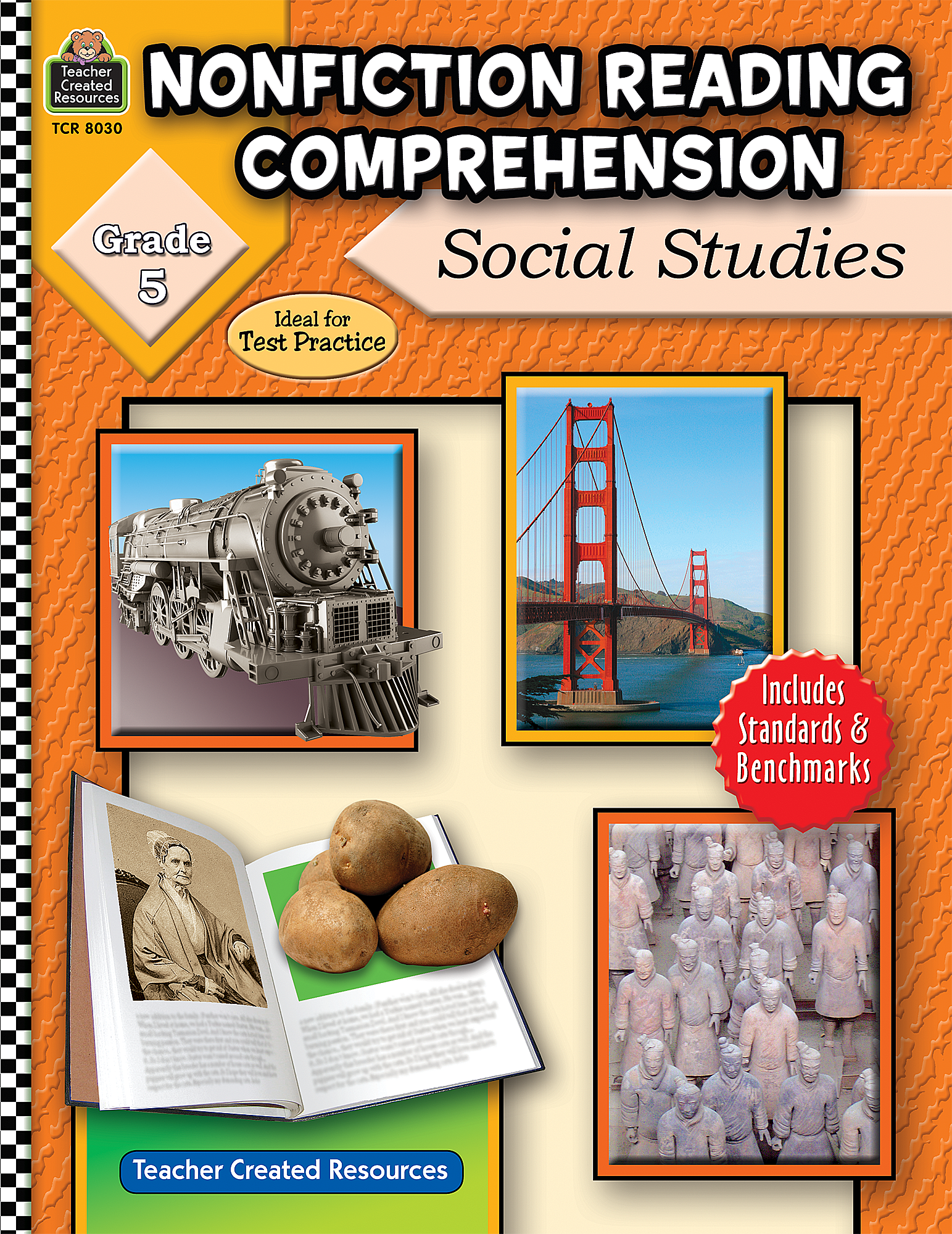Nonfiction Reading Comprehension Social Studies Grade 5 – Teacher Created Resources Worksheets