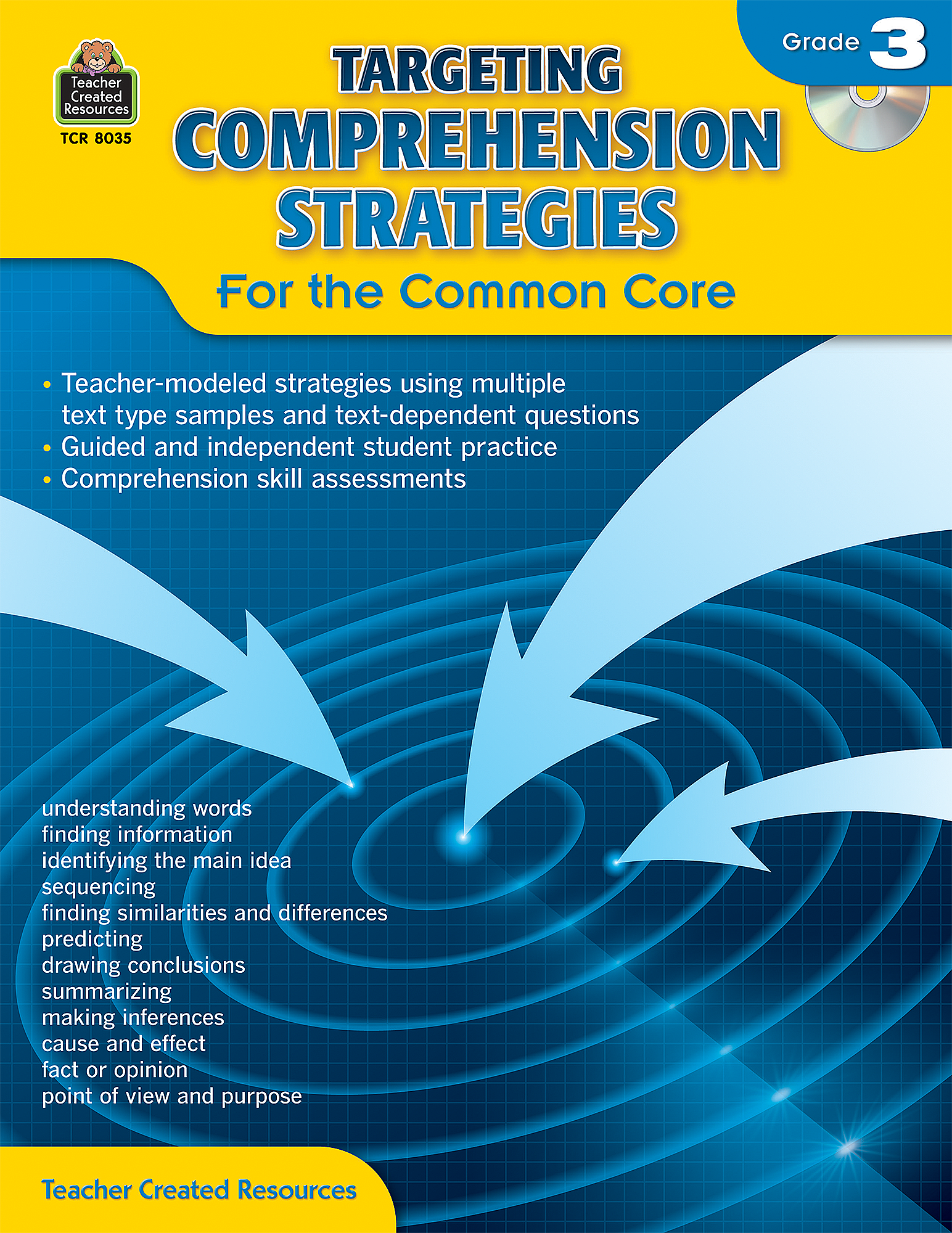 Targeting Comprehension Strategies for the Common Core Grade 3 ...