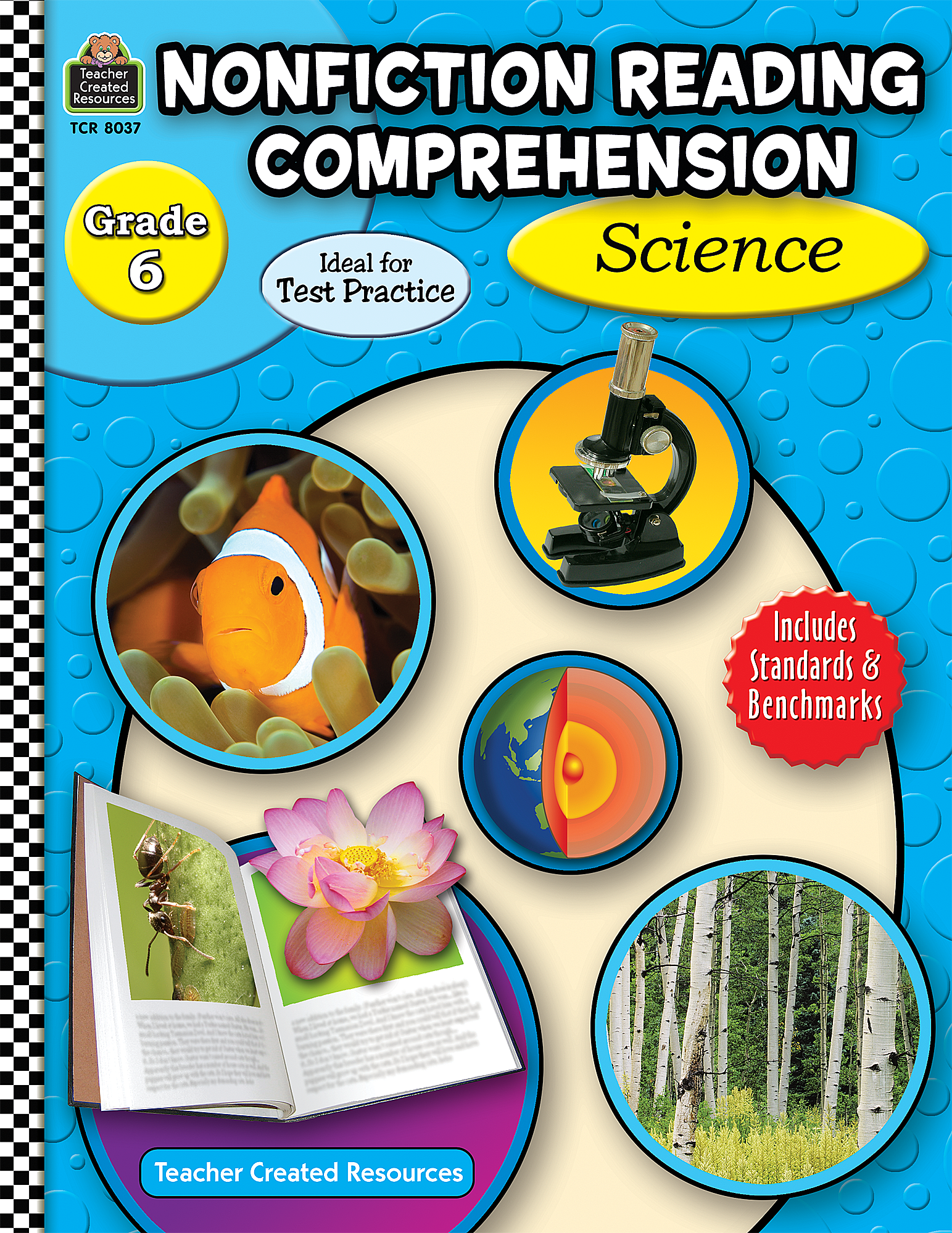 worksheet Nonfiction Reading Comprehension Worksheets nonfiction reading comprehension science grade 6 tcr8037 teacher created resources