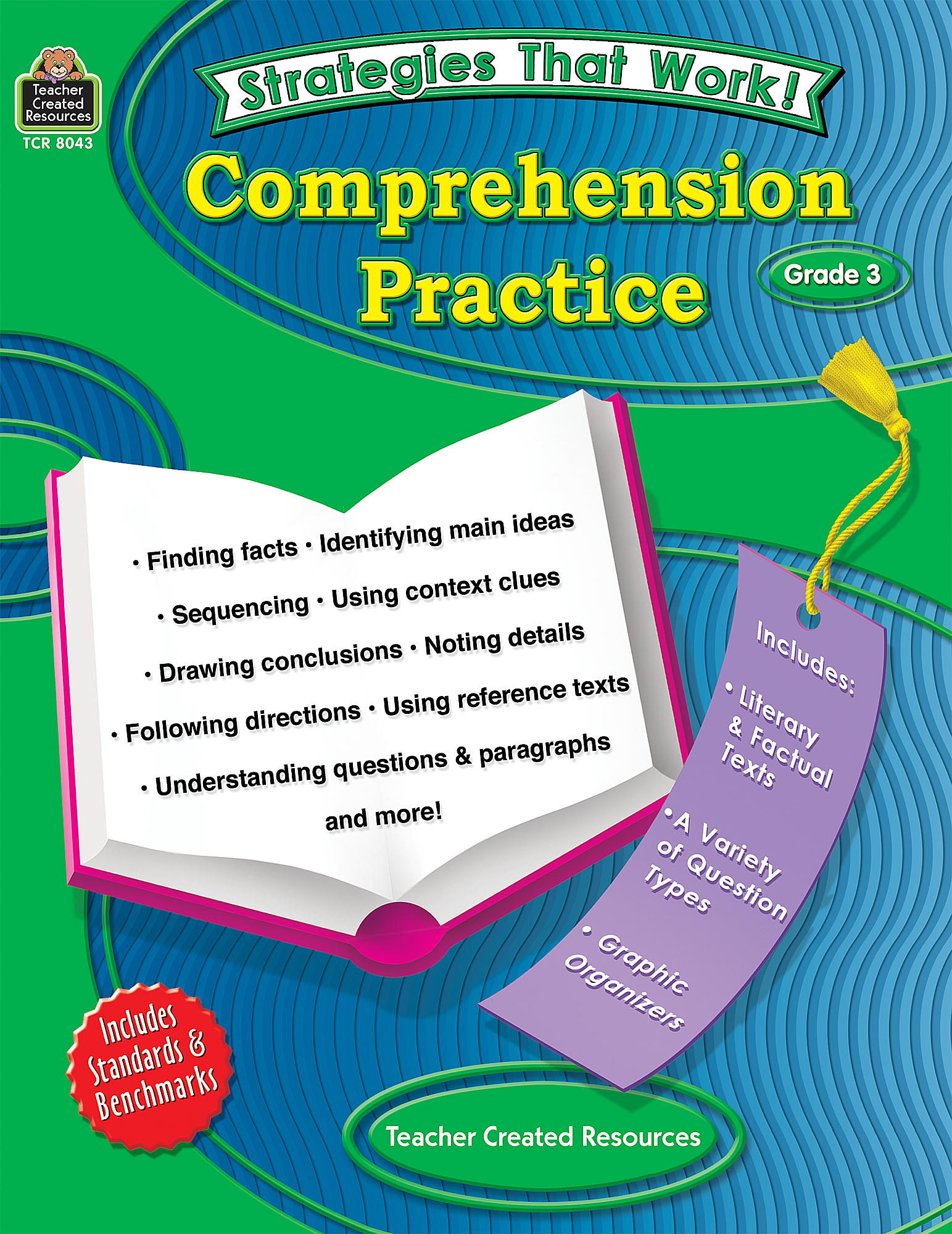 - Strategies That Work: Comprehension Practice, Grade 3 - TCR8043