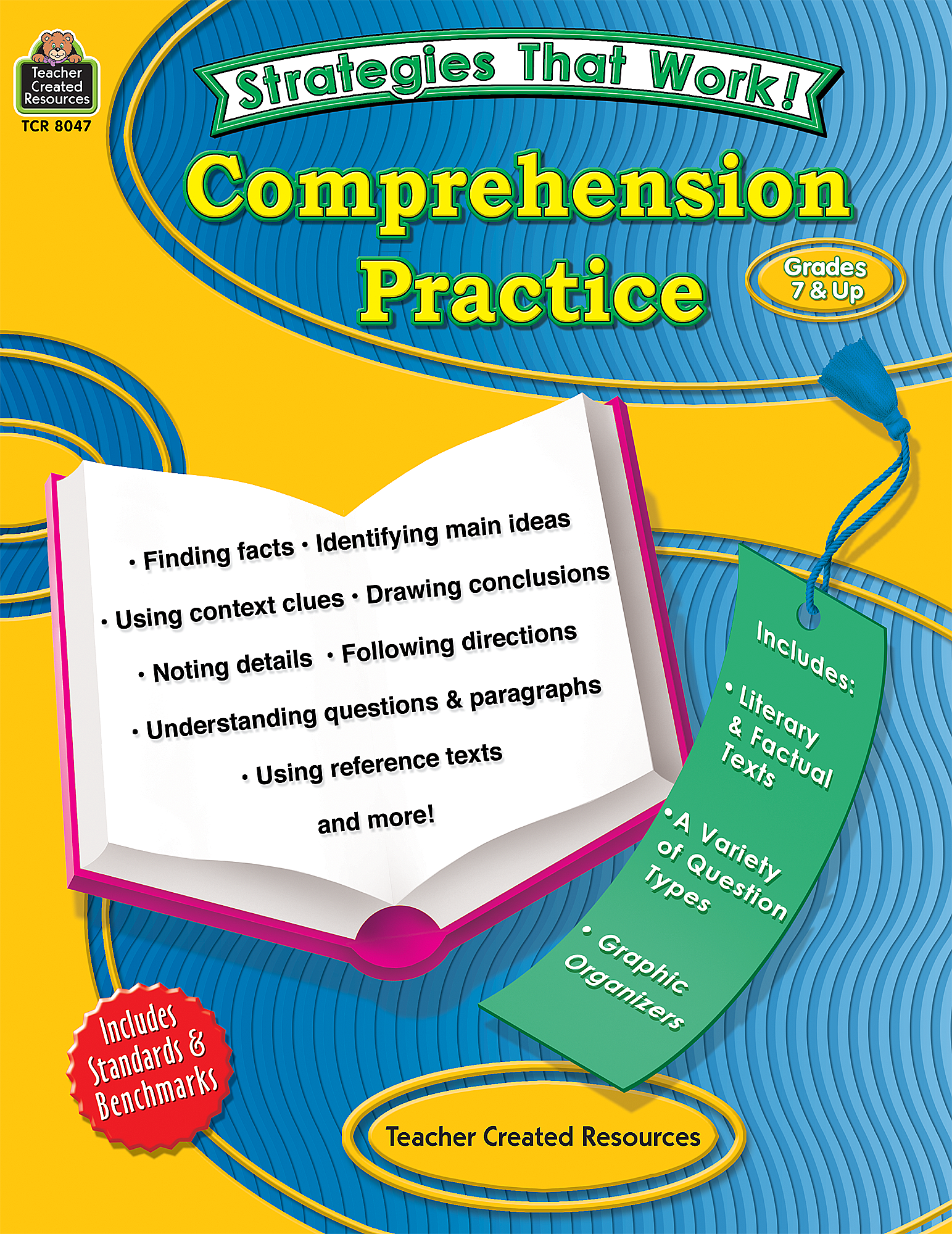Strategies That Work Comprehension Practice Grades 7 Up