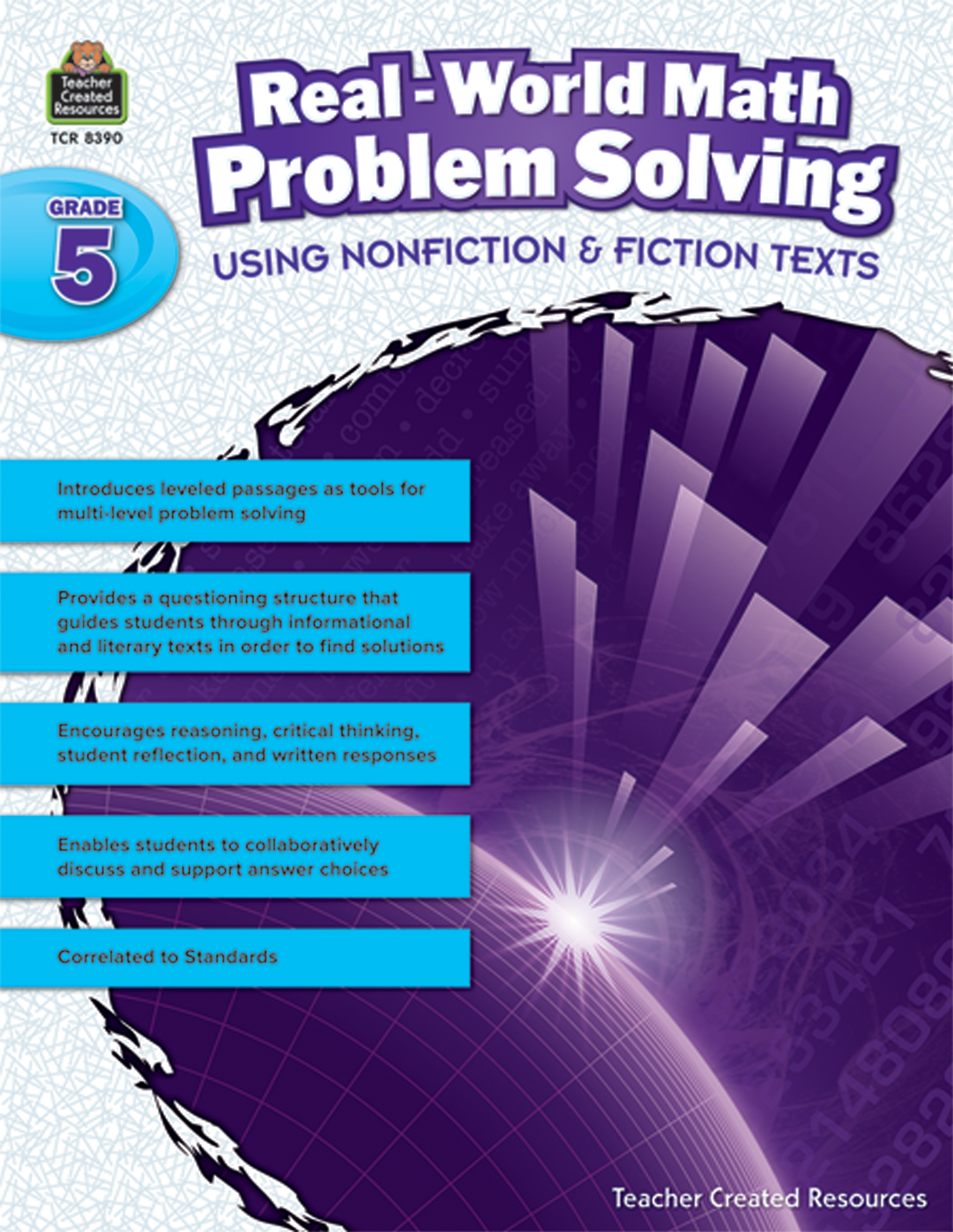 Real-World Math Problem Solving Grade 5 - TCR8390 | Teacher Created ...