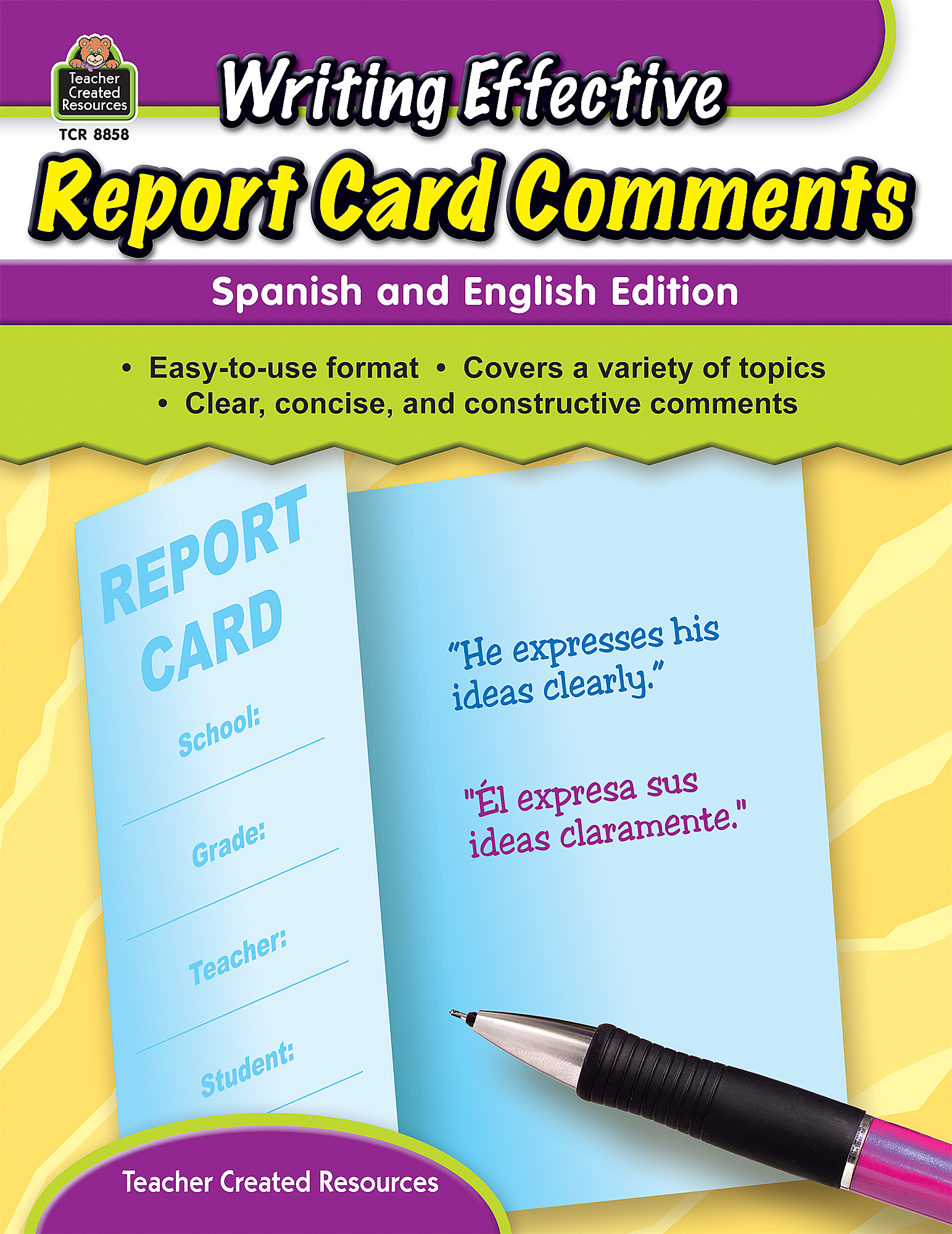 report card comments for writing Join us for a huge collection of report card comments our simple report writing system will make writing your pupil reports a quick and painless job.