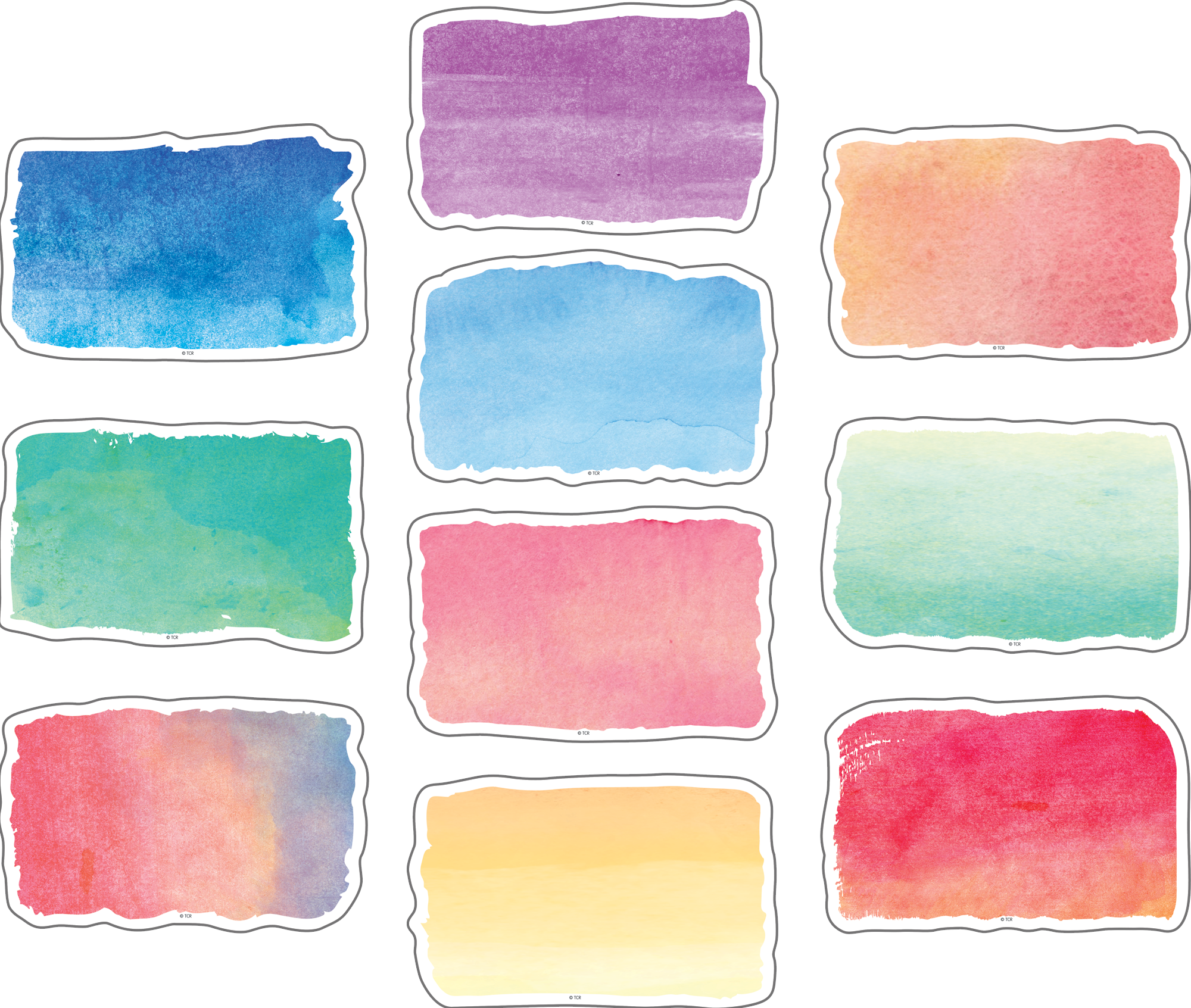 Watercolor Accents Tcr8972 Teacher Created Resources
