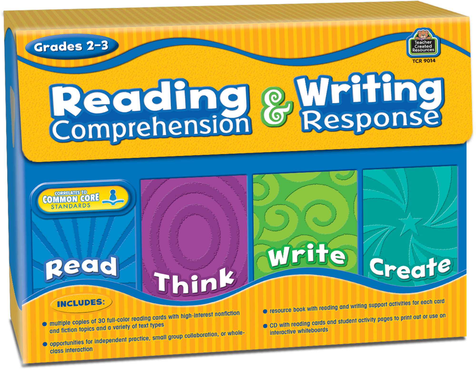 Reading Comprehension Writing Response Grade 23 TCR9014 – Teacher Created Resources Worksheets